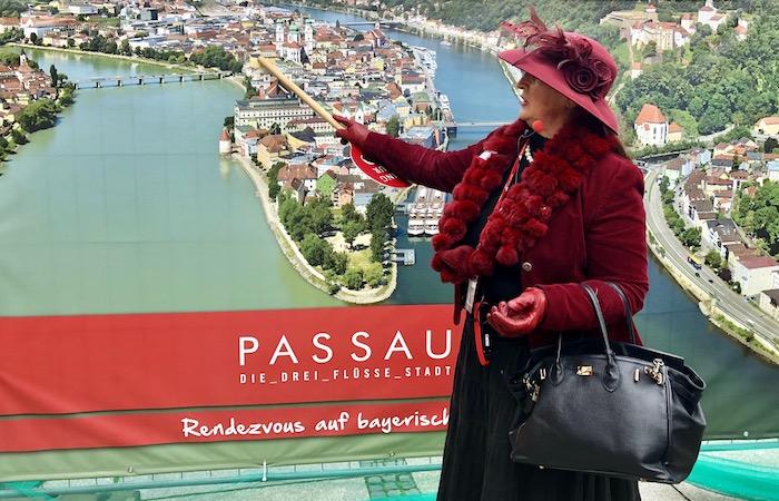 Passau city tour on Viking Danube Cruise