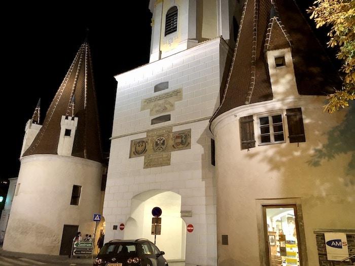 Steiner Tor, City Gate in Krems, Austria