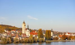 Krems am Stein on the Danube