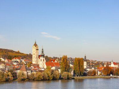 Krems am Stein on the Danube