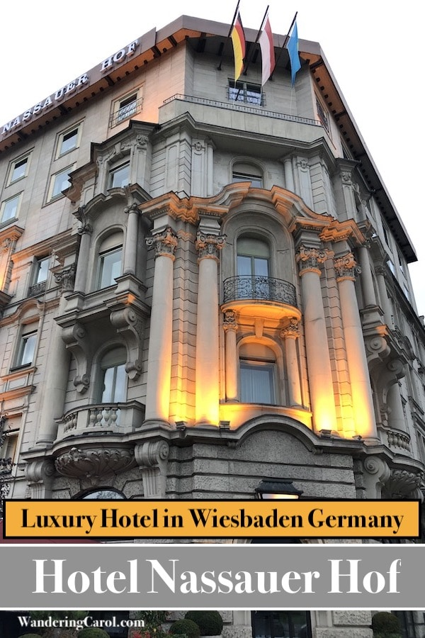 Wiesbaden hotel review – the Nassauer Hof