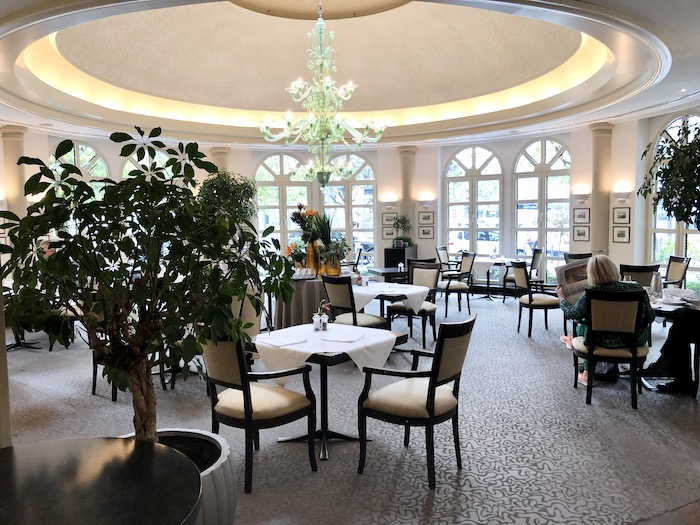 Orangerie Restaurant in the Nassauer Hof Hotel Weisbaden Germany