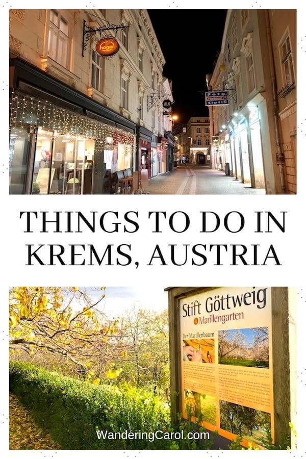 Things to do in Krems, Austria – a Whirlwind Tour