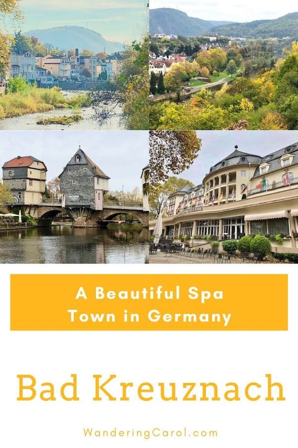 Collage of photos of Bad Kreuznach Germany