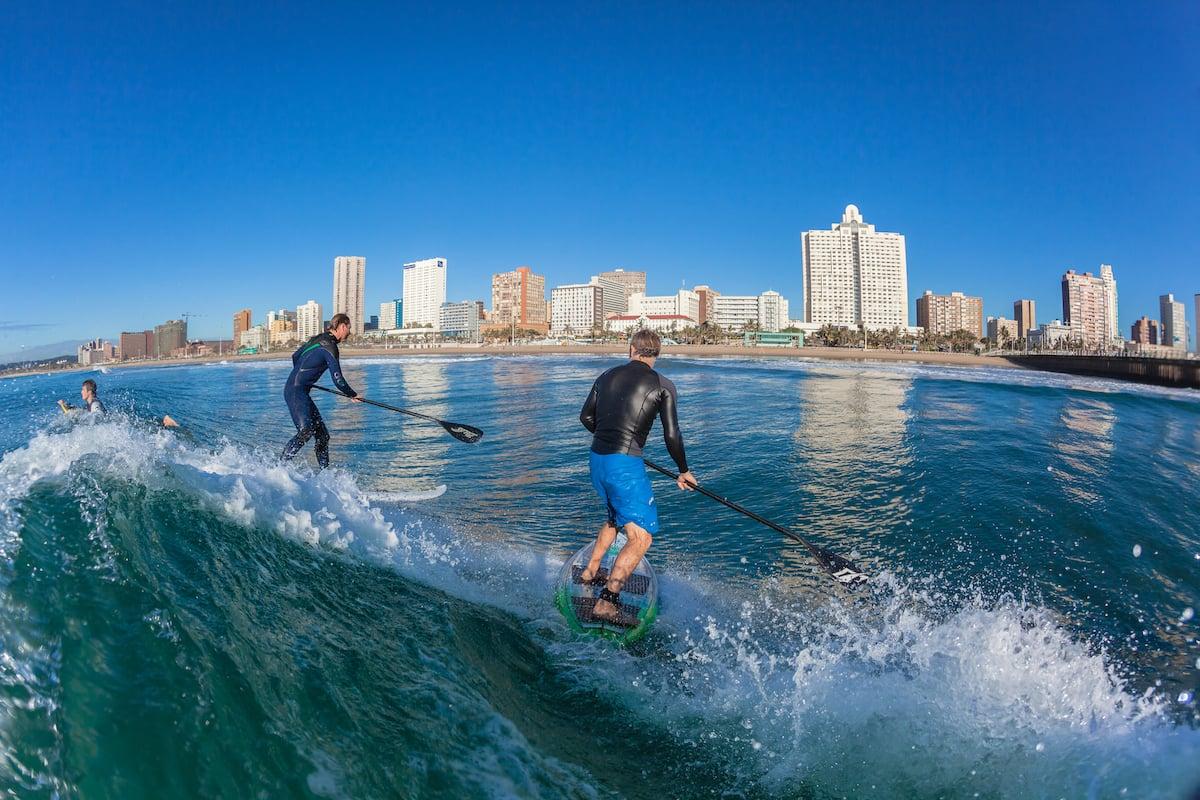 surfers in durban