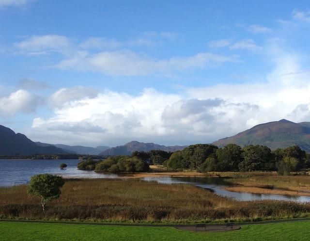 beautiful lake at killarney national park