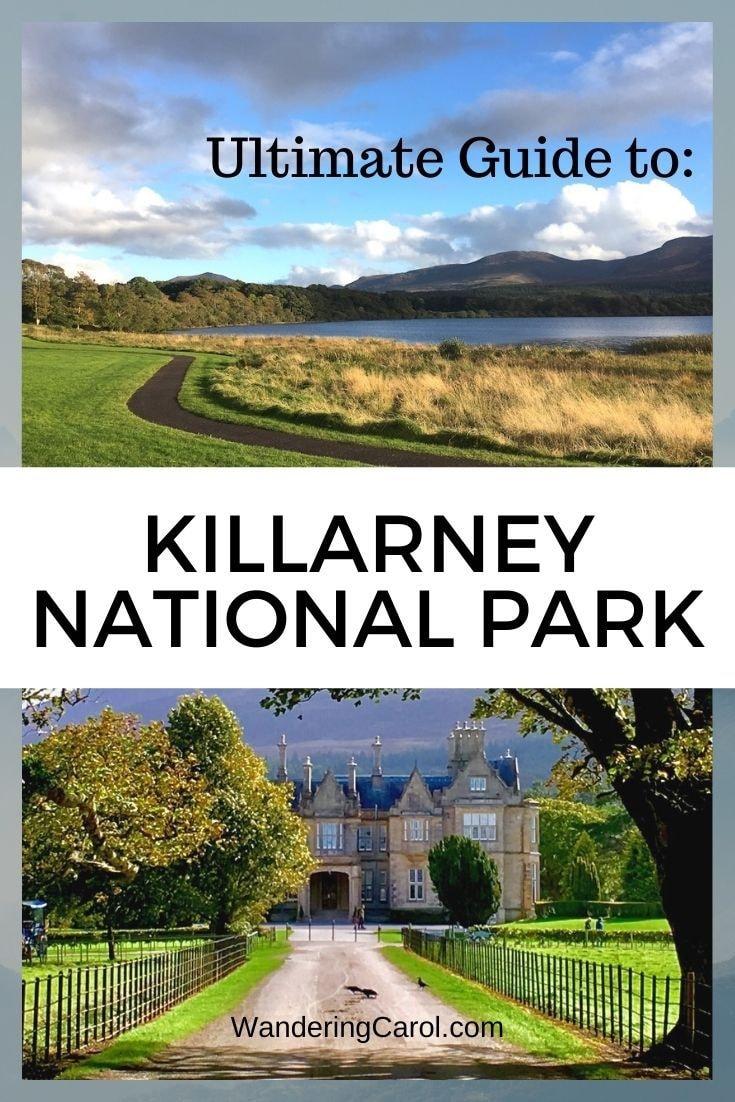 pinterest image of killarney national park